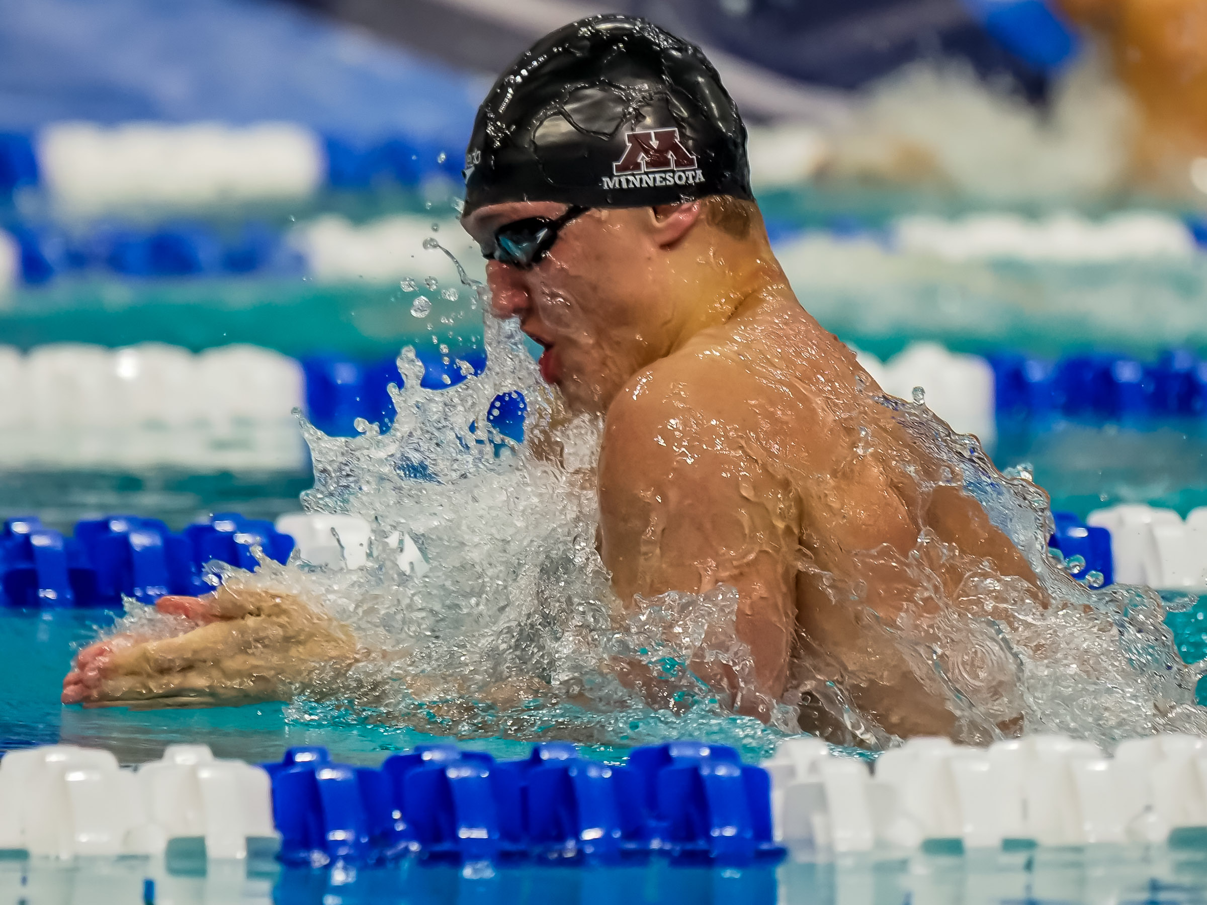 Minnesota Swimming and Diving Upsets Southern Cal; McHugh Blasts 52.9 100 Breast