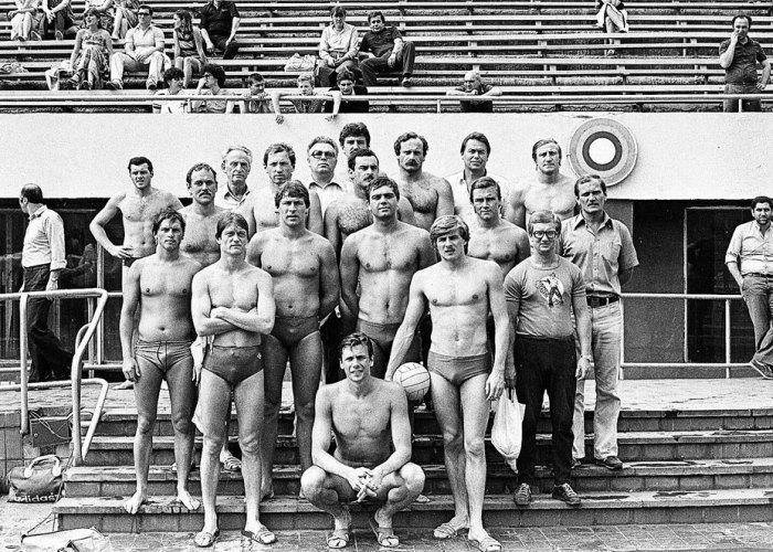 Boris Popov Russia 80 Olympic team