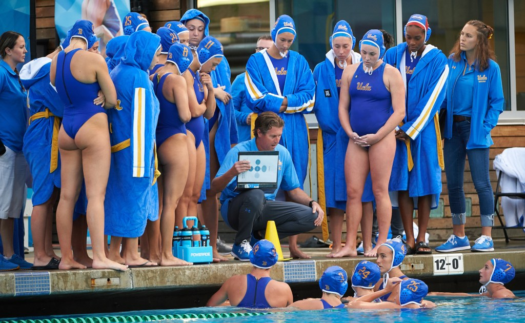 UCLA Athletics - 2019 UCLA Women's Water Polo versus the University of Pacific Tigers, Sunset Recreational Center, UCLA, Los Angeles, CA. March 29th, 2019 Copyright Don Liebig/ASUCLA 190329_WWP_0391.NEF