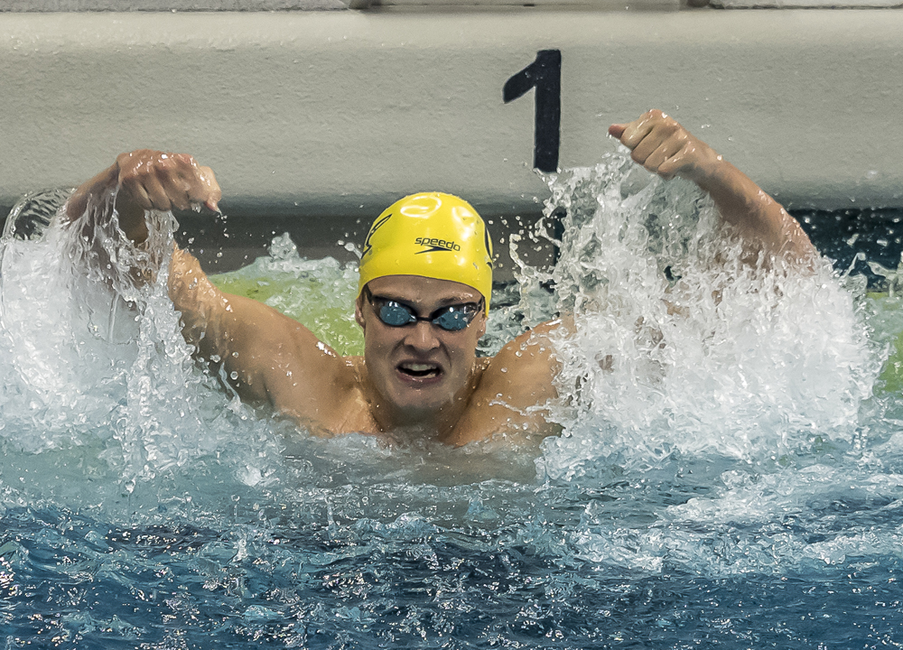 daniel carr 100 Backstroke, 2019 NCAA Division I Men's Championship, Carr Daniel, Day 3 prelims, Re-swim