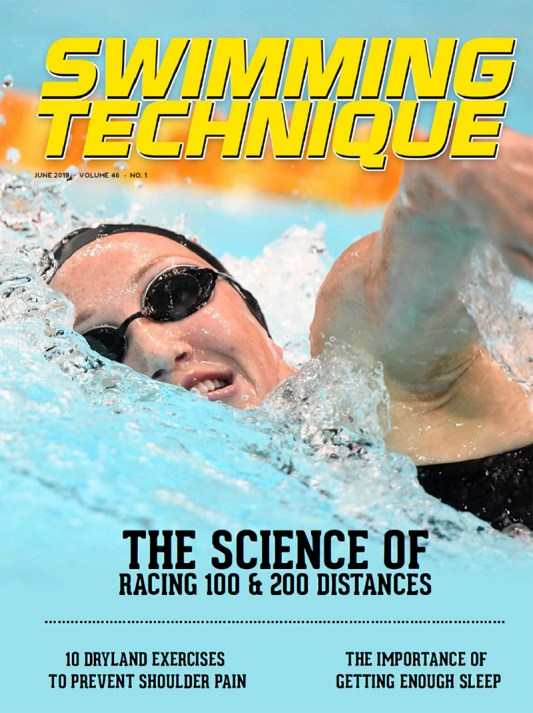 Swimming Technique June 2019 Issue - Cover