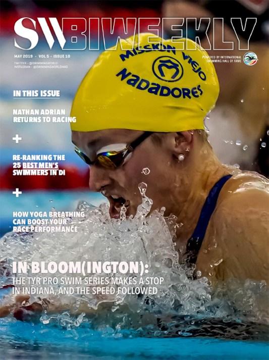 SW Biweekly: In Bloom(ington) - 2019 TYR Pro Swim Series Full Finals Recap - Cover