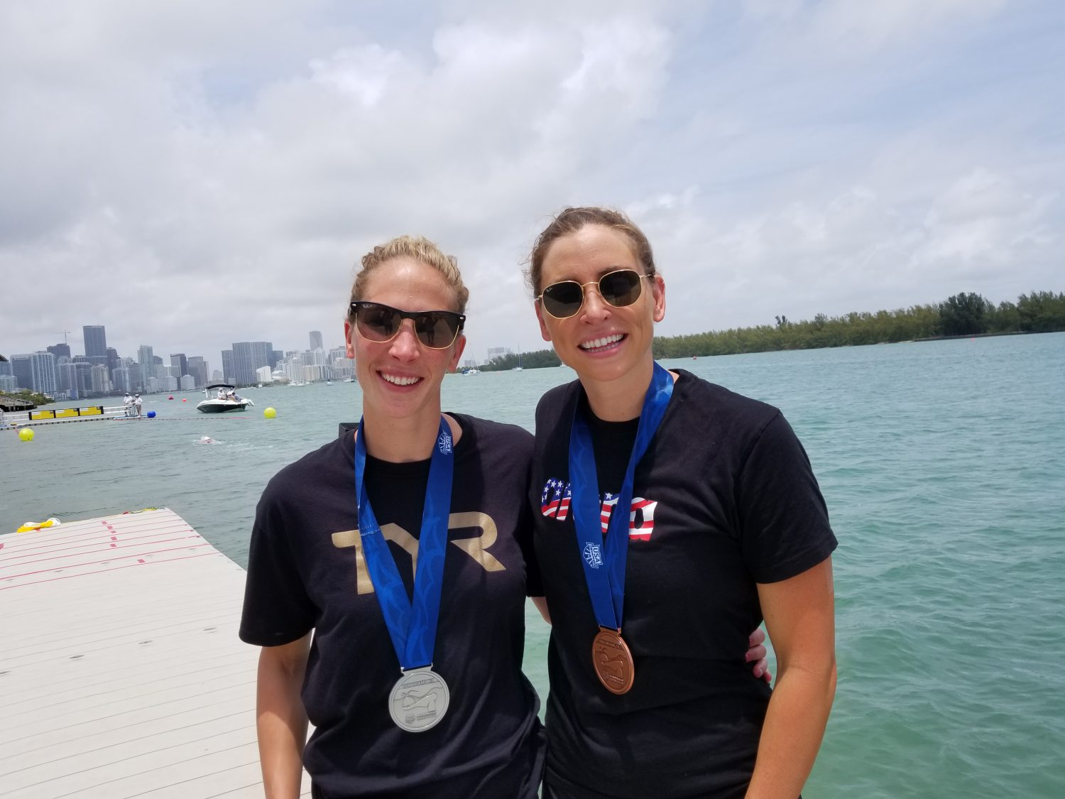 Haley Anderson & Ashley Twichell Stay Safe/Honour Fran By Pulling Out Of Qatar Beach Games