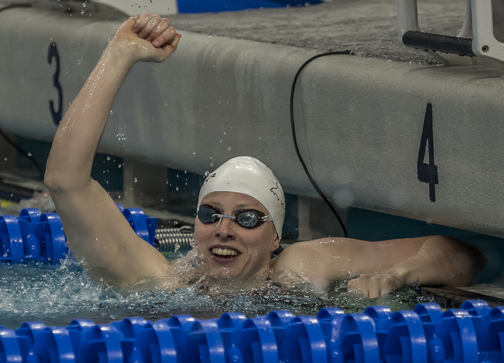 lilly king 2019 d1 w NCAA Division I Womens Swimming and Diving Championship Austin Texas Swimming World