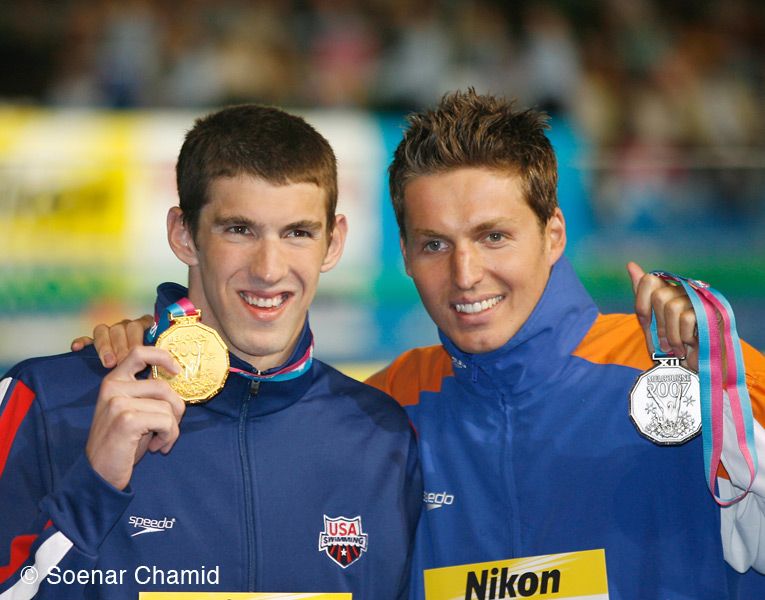 melbourne2007 with phelps