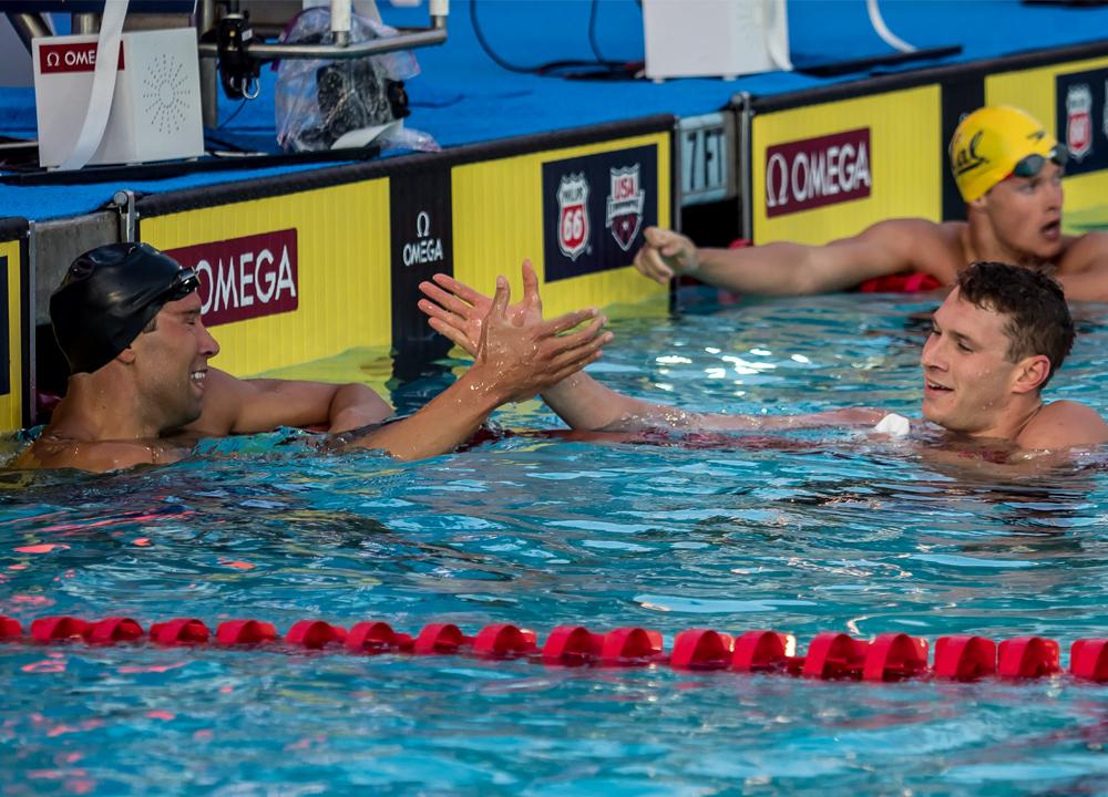 Matt Grevers Ryan Murphy Swimming World Mens Swimming