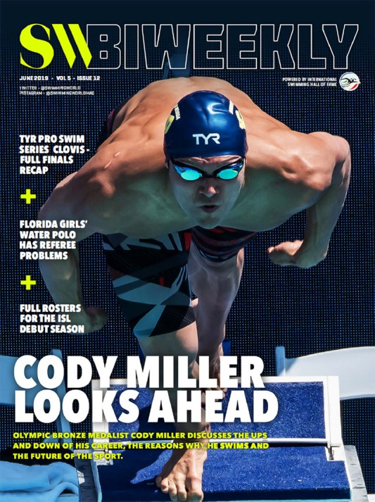 SW Biweekly - Cody Miller Looks Ahead: His Career, Why He Swims, and the Future of the Sport - Cover