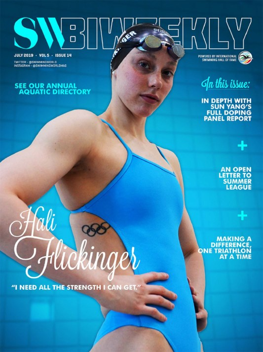 SW Biweekly - Hali Flickinger: I Need All the Strength I Can Get! - Cover