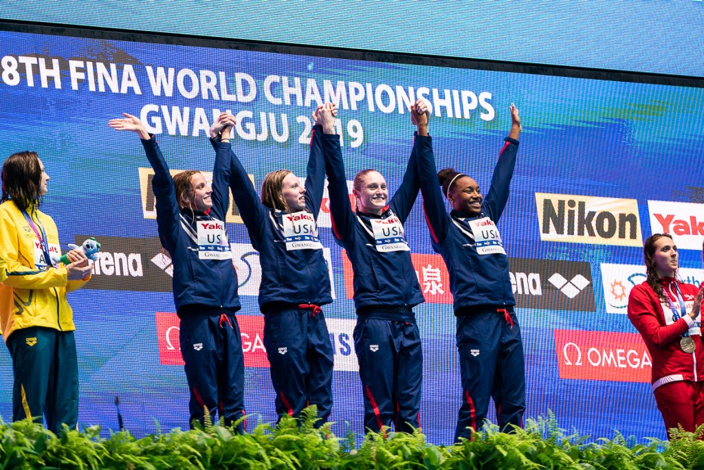 team-usa-4x100-medley-relay-final-2019-world-championships_3, regan smith, lilly king, kelsi dahlia, simone manuel, olympic trials