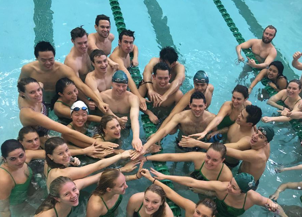Dartmouth Team - Goldminds Swimming World August 2019