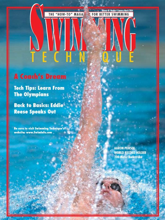Swimming Technique January - March 2004 Issue - Cover