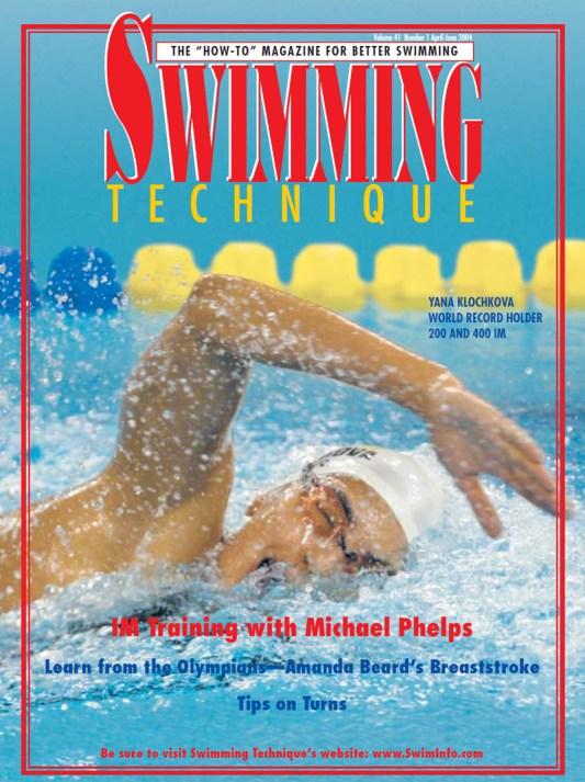 Swimming Technique April - June 2004 Issue - Cover