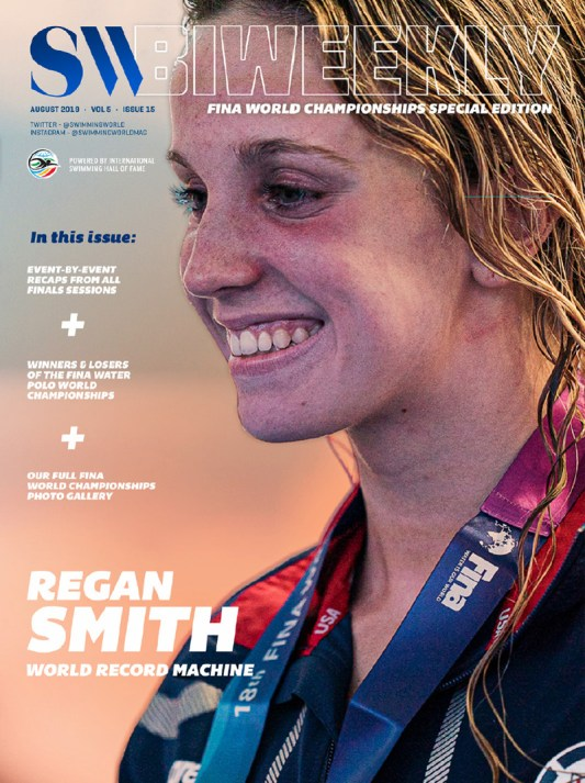 SW Biweekly: The FULL 2019 FINA World Championships Recap - Cover