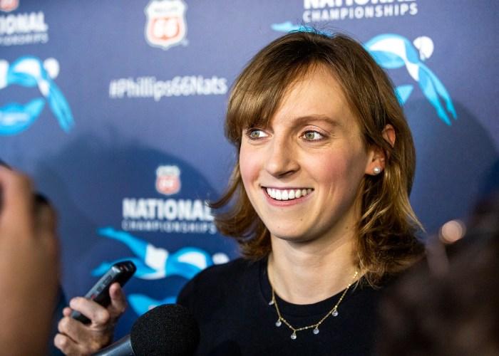 katie-ledecky, best women's swimmers