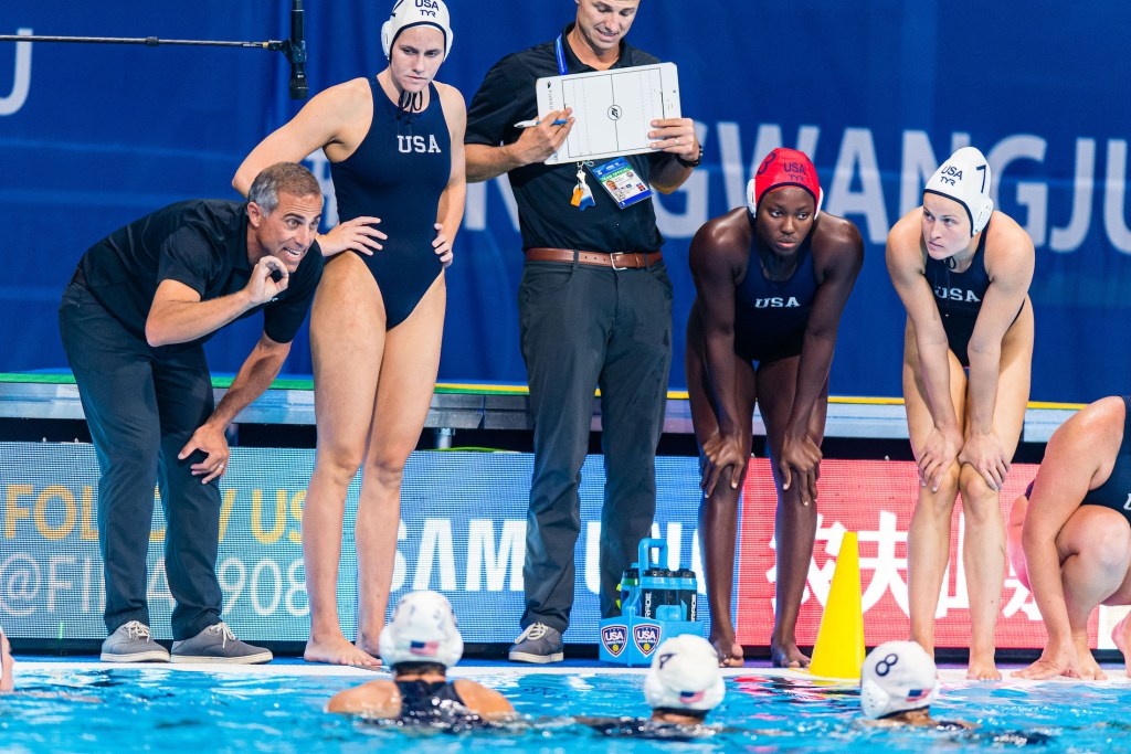 16-07-2019: WK waterpolo: USA v Netherlands: Gwangju KRIKORIAN Adam (USA) Gwangju South Korea 16/07/2019 Waterpolo W15 USA - NED 18th FINA World Aquatics Championships Nambu University Grounds Photo © Orange Pictures / Deepbluemedia / Insidefoto