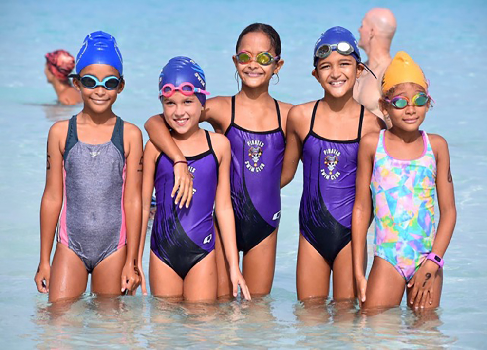 A new generation of Barbados Open Water competitors