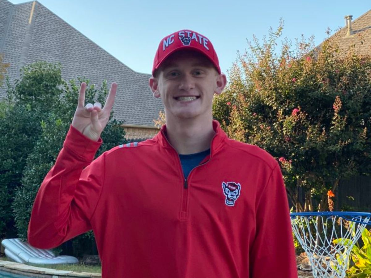 Wolfpack Earns 2021 Verbal from Oklahoma State Record Holder Aiden Hayes