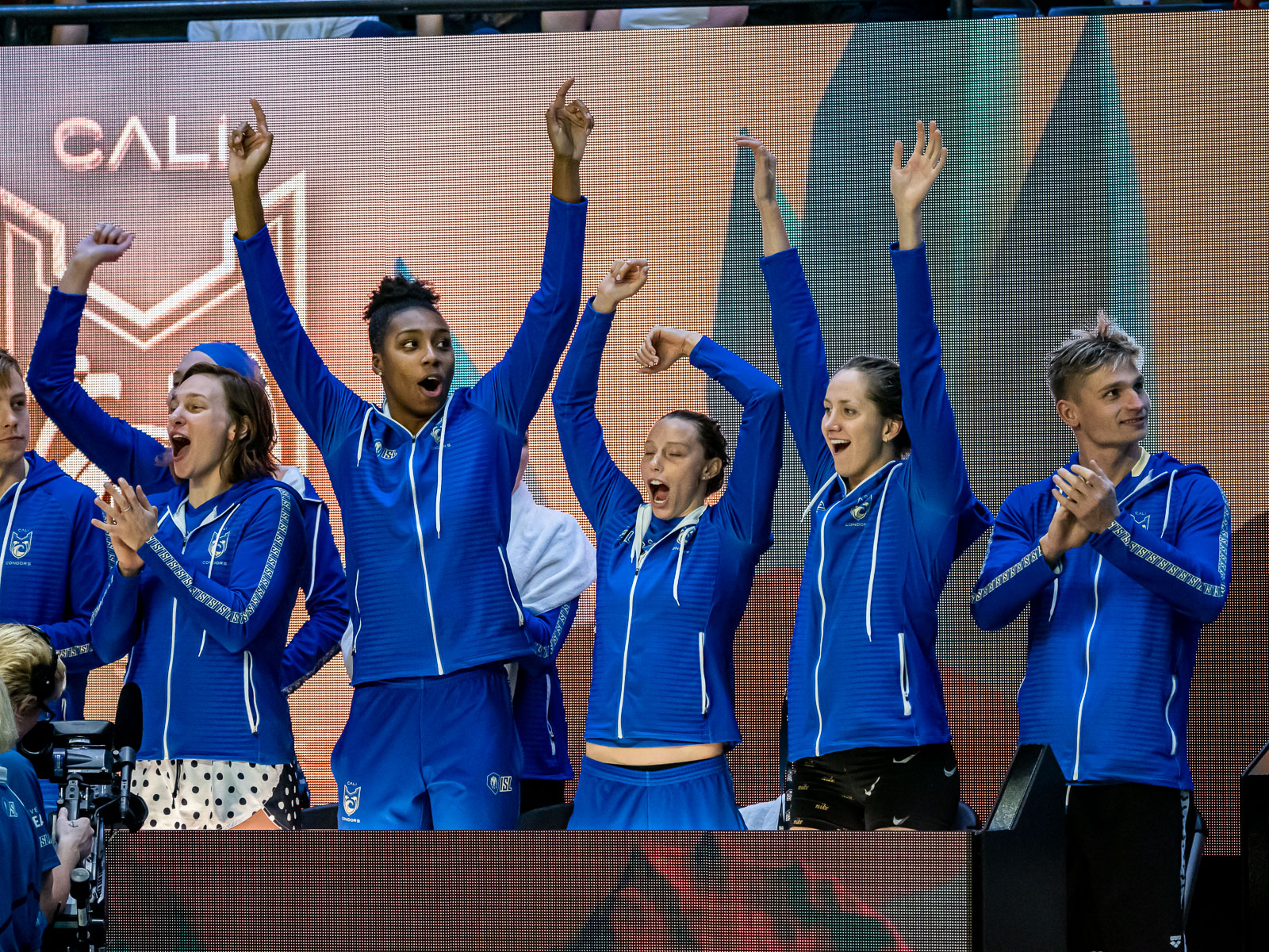 International Swimming League Athletes Fueled by Team Energy, Team Style