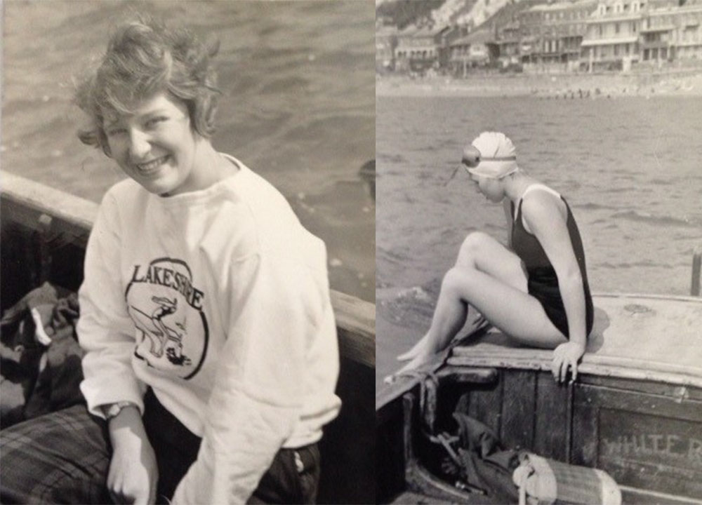 Marilyn Bell open water swimmer ishof