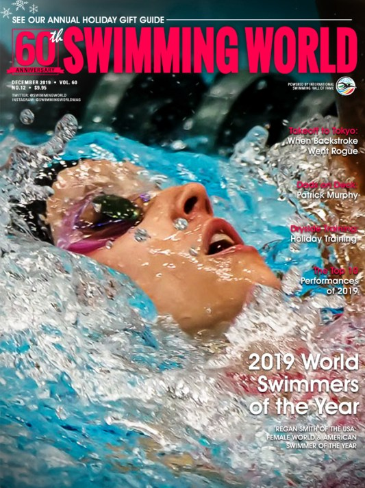 Swimming World Magazine December 2019 Issue - PDF ONLY - Cover