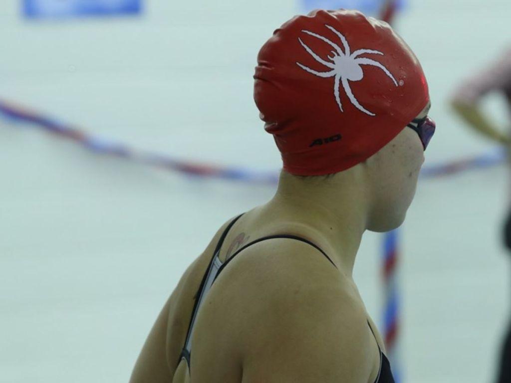 richmond spiders cap focus swimmer