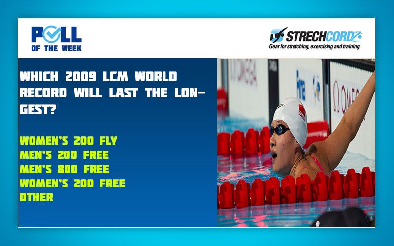 Swim Poll of the Week: Which 2009 World Record Will Last the Longest?