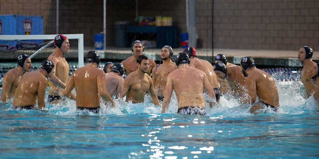 Whittier defeats MIT in the first semi-final of the Men's Division III National Championship held at the Lillian Slade Aquatics Center on the campus of Whittier College.