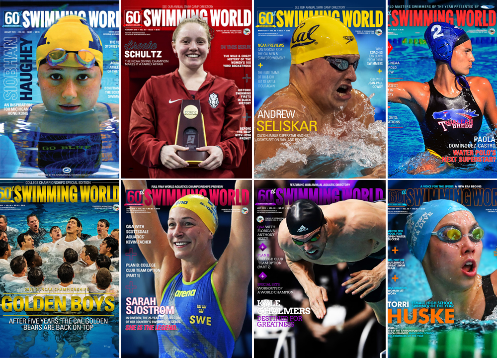 2019 Swimming World Covers in Review