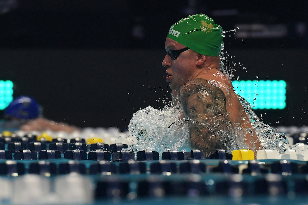 Foto Gian Mattia D'Alberto/LaPresse 21 Dicembre 2019 Las Vegas - USA sport nuoto 2019 ISL - International Swimming League. Nella foto: PEATY Adam Photo Gian Mattia D'Alberto/LaPresse December 21, 2019 Las Vegas - USA sport swimming 2019 ISL - International Swimming League. In the picture: PEATY Adam