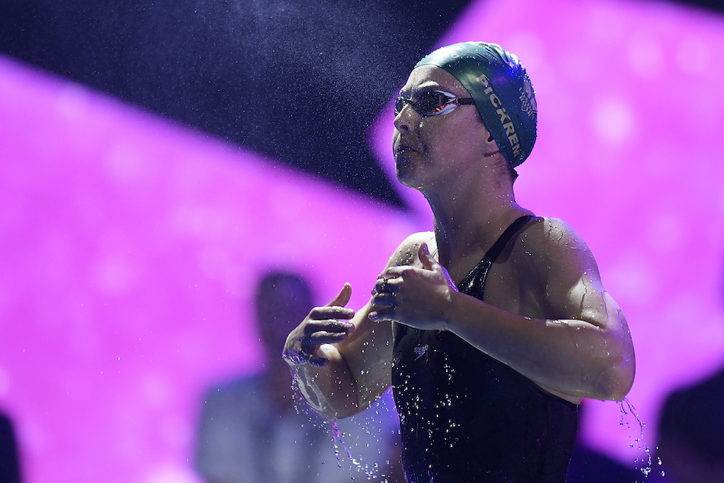 Foto Fabio Ferrari/LaPresse 21 Dicembre 2019 Las Vegas - USA sport nuoto 2019 ISL - International Swimming League. Nella foto: PICKREM Sydney Photo Fabio Ferrari/LaPresse December 21, 2019 Las Vegas - USA sport swimming 2019 ISL - International Swimming League. In the picture: PICKREM Sydney
