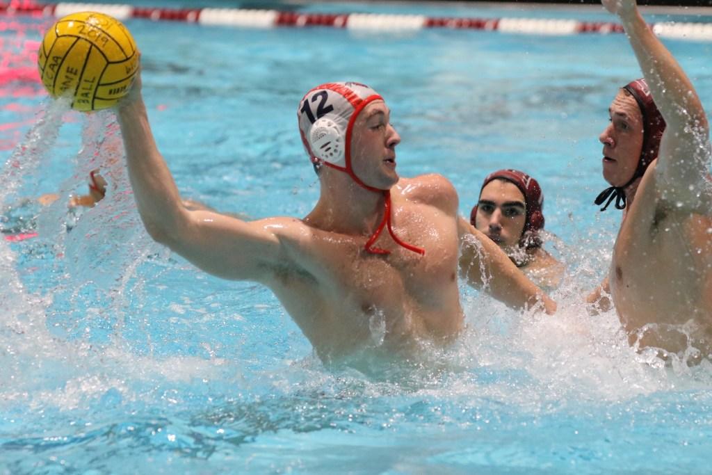 Bucknell's Logan Schofield against Havard