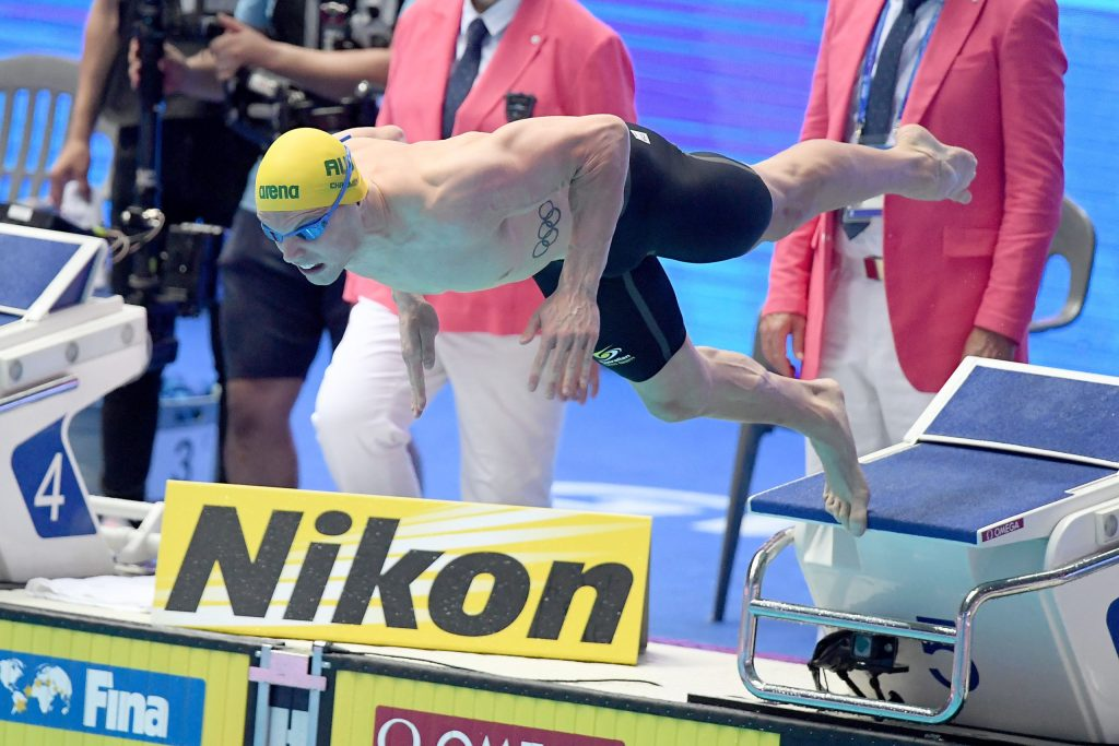 Kyle Chlamers AUS, 100m Freestyle Final, 18th FINA World Swimming Championships 2019, 25 July 2019, Gwangju South Korea. Pic by Delly Carr/Swimming Australia. Pic credit requested and mandatory for free editorial usage. THANK YOU.