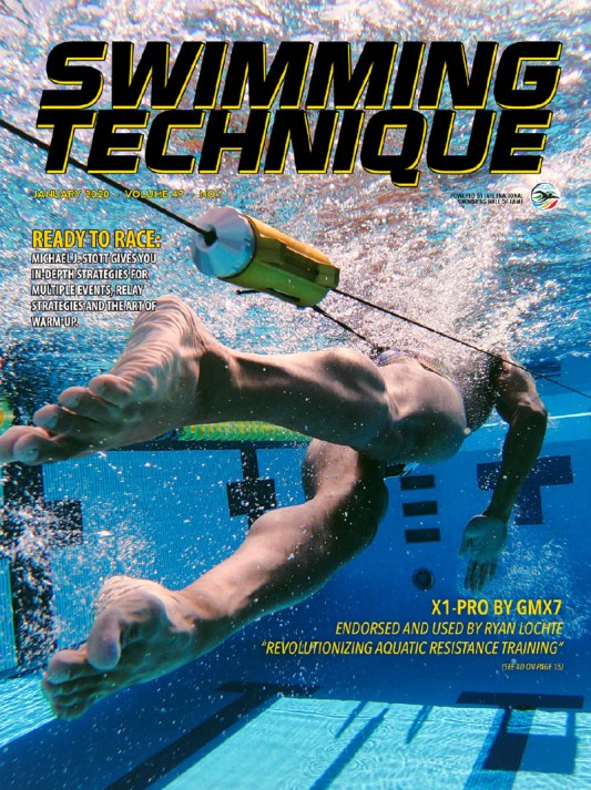 Swimming Technique January 2020 Issue - Cover