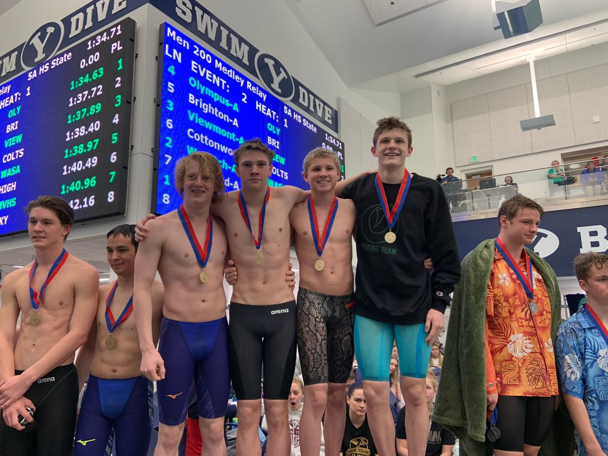Ryan Garstang Leads Olympus to First-Ever Utah Boys 5A State Title; Timpview Girls Win - Swimming World News