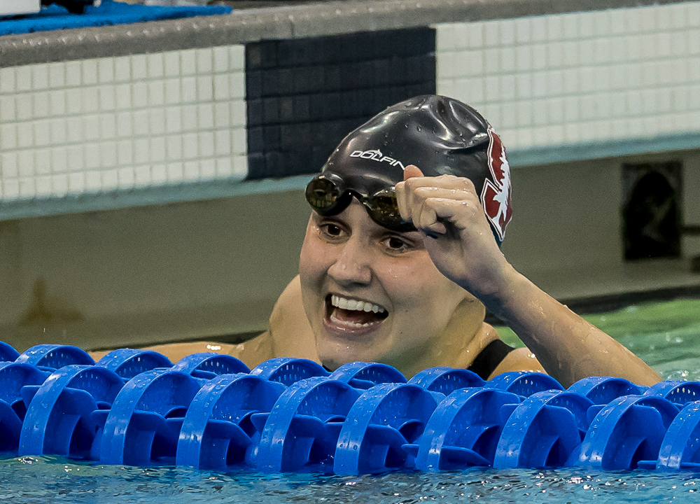 Swimming World March 2020 - May The Fourth Be With You - Stanford Cardinals - Womens NCAA Previews - Katie Drabot by PHB