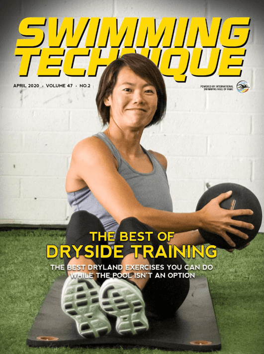 Swimming Technique April 2020 Issue - Cover