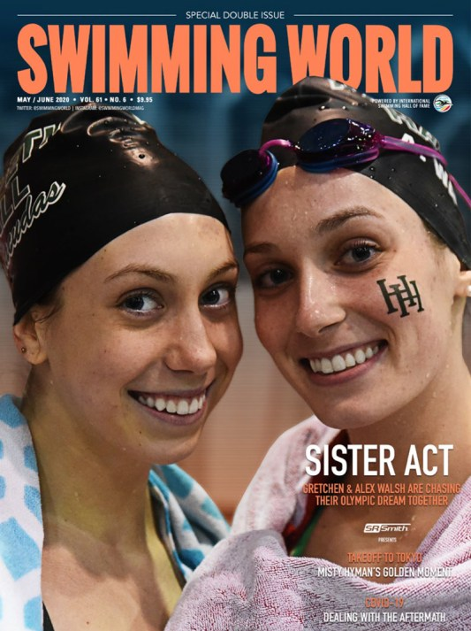 Swimming World Magazine May/June 2020 Issue - PDF ONLY - Cover