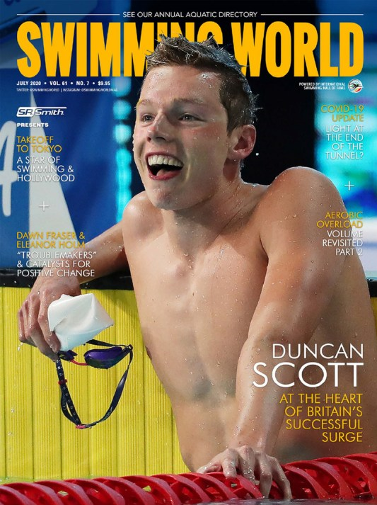 Swimming World Magazine July 2020 Issue - PDF ONLY - Cover