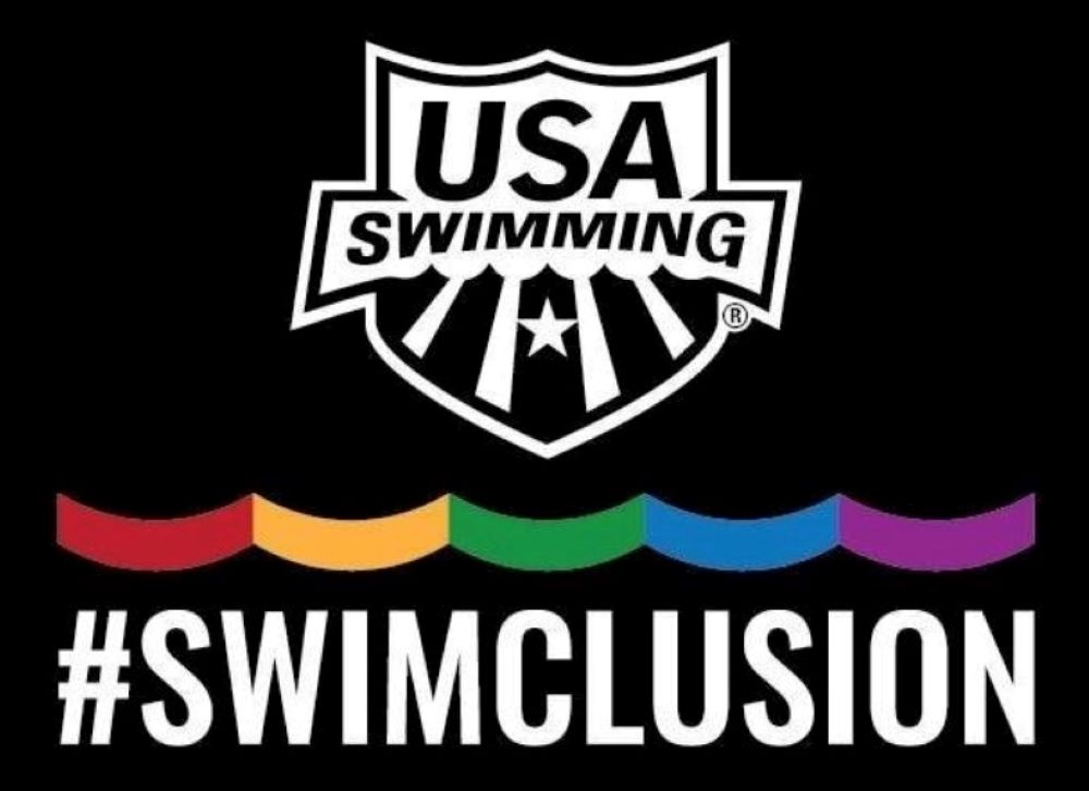 USA Swimming - Pride Logo