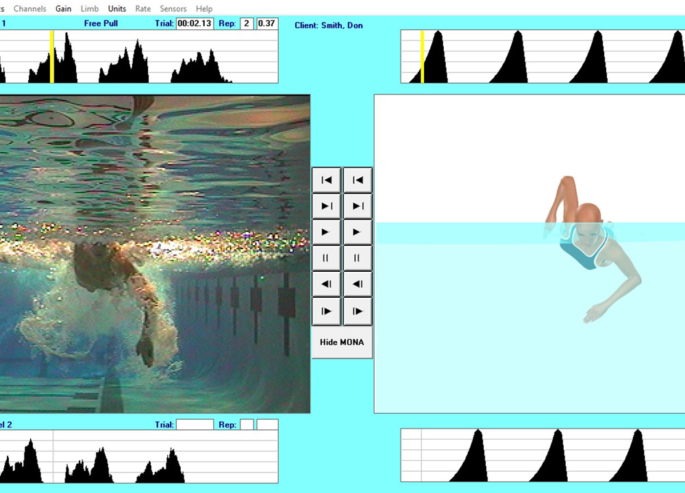 Swimming World January 2020 - The Value of Hand Force Analysis Part IV Freestyle Rod Havriluk