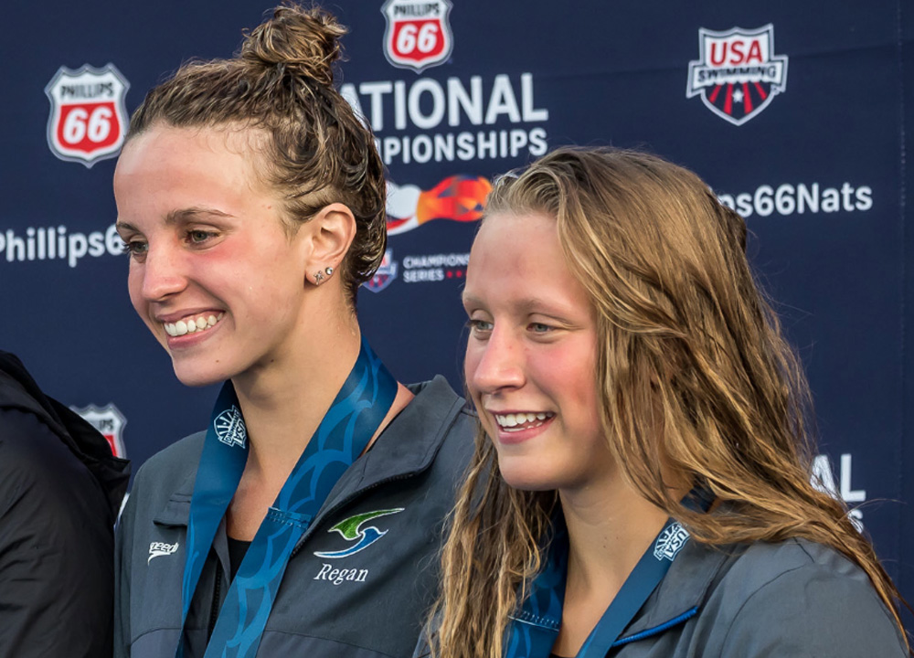 SW August 2020 top high school recruits regan smith and isabelle staddon