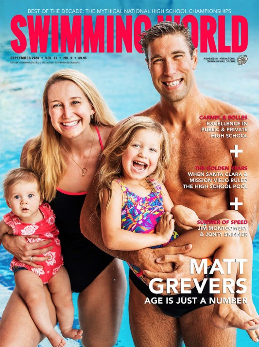 Swimming World Magazine September 2020 Issue - PDF ONLY - Cover