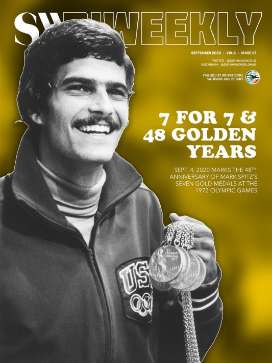 SW Biweekly - Mark Spitz: 7 For 7 - The 48th Anniversary of His 1972 Munich Olympics Success - Cover