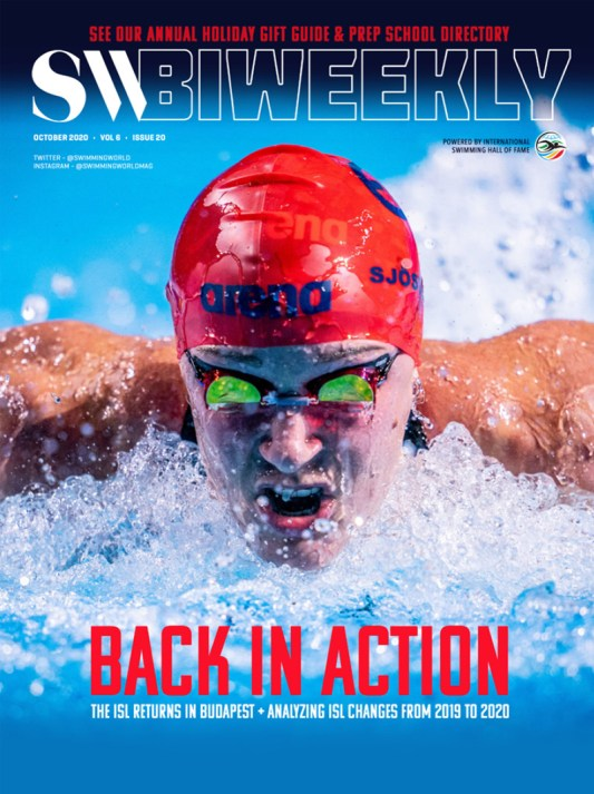 SW Biweekly - Back in Action: The International Swimming League Returns in Budapest - Cover