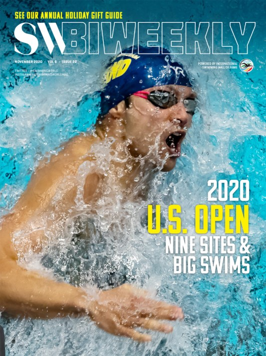SW Biweekly - 2020 U.S. Open Highlights: Nine Sites and Big Swims - Cover