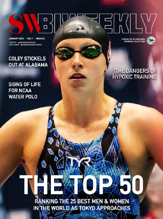 SW Biweekly - The Top 50: Ranking the 25 Best Men and Women in the World as Tokyo Approaches - Cover