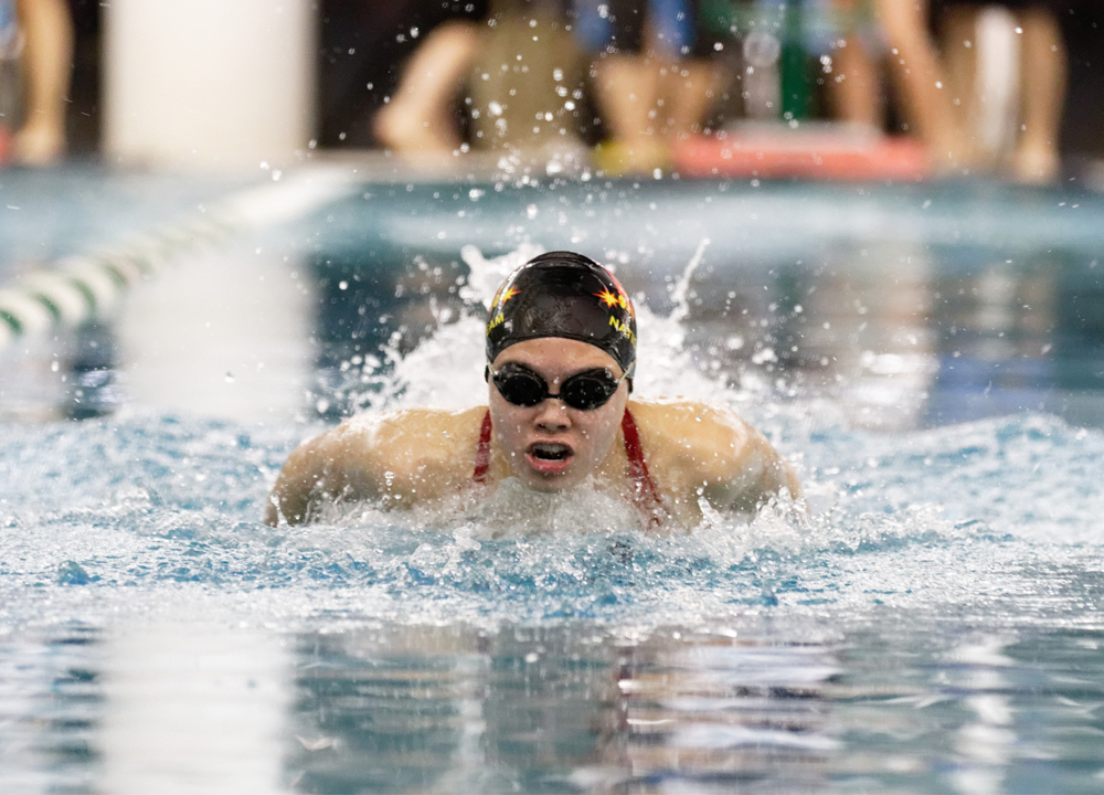 Swimming World January 2021 - Up and Comers - Levenia Sim