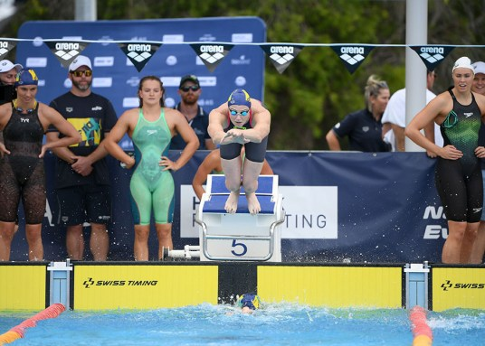 CATE CAMPBELL START HEAD ON 2