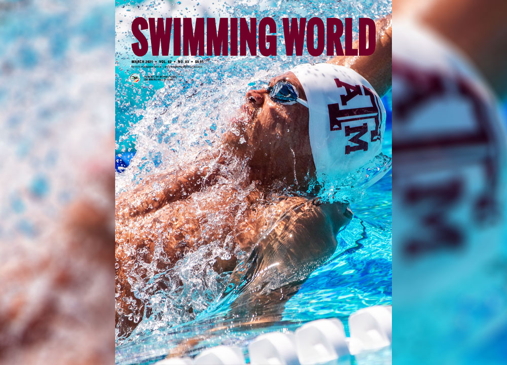 Swimming World March 2021 Pre Order Cover Teaser - Shaine Casas - slider