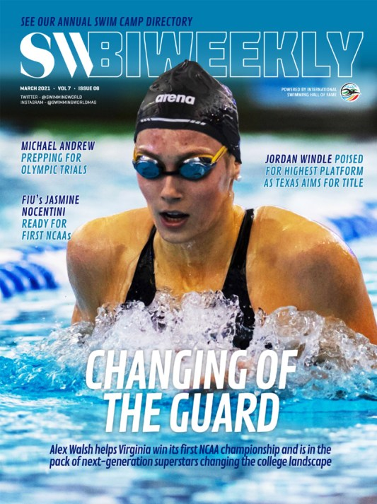 SW Biweekly - Alex Walsh: Among Next-Gen Superstars Changing The Landscape of College Swimming - Cover